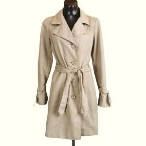 Vero Moda Cathrin 3/4 Trench Coat Sz SM